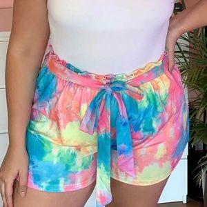 Adorable Tye Dye Shorts!